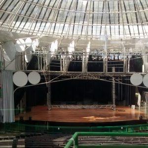 Ópera de Arame - gps ligado