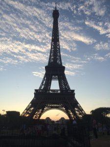 viagem à paris - gps ligado