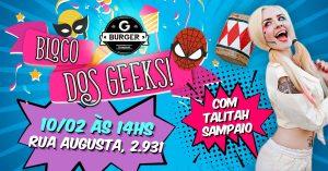 carnaval 2018 geek - gps ligado